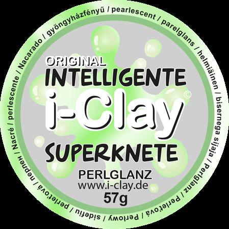 Perlglanz intelligente Superknete i-Clay Gelb Zauberknete Knetmasse